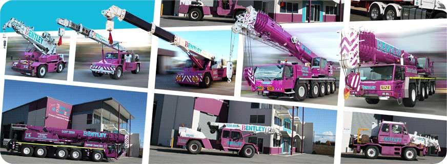 Crane Hire Perth | Perth Crane Hire | Bentley Crane Hire